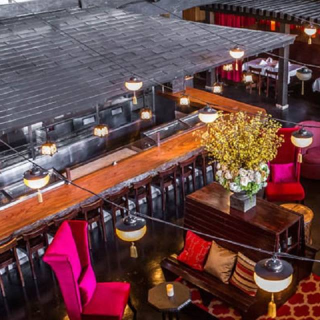 New lounge - Shan Social House, Beverly Hills, CA