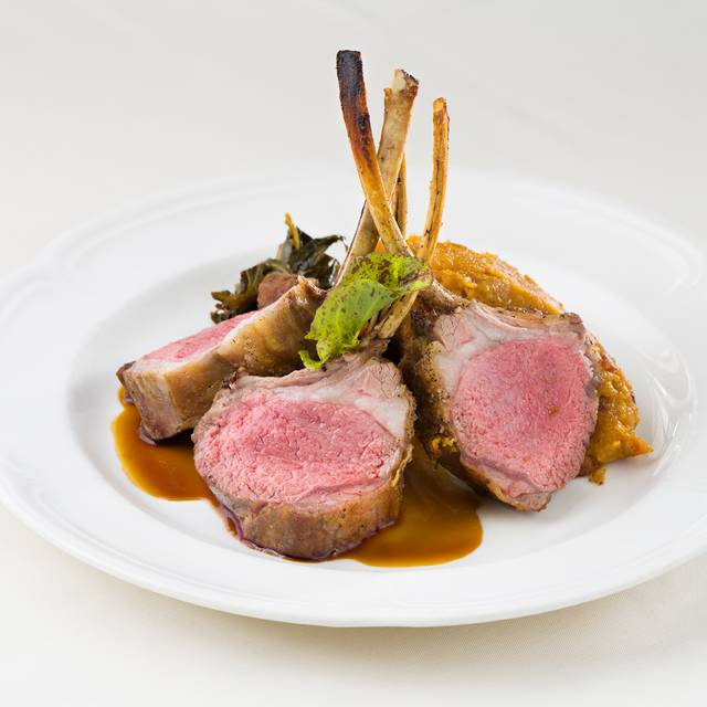 Lamb Chops - The Rib Room at the Omni Royal Orleans, New Orleans, LA