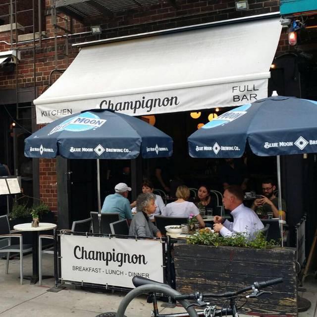 Outdoor - Champignon, New York, NY