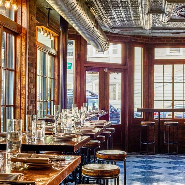 The Hutton Restaurant & Bar, Jersey City, NJ