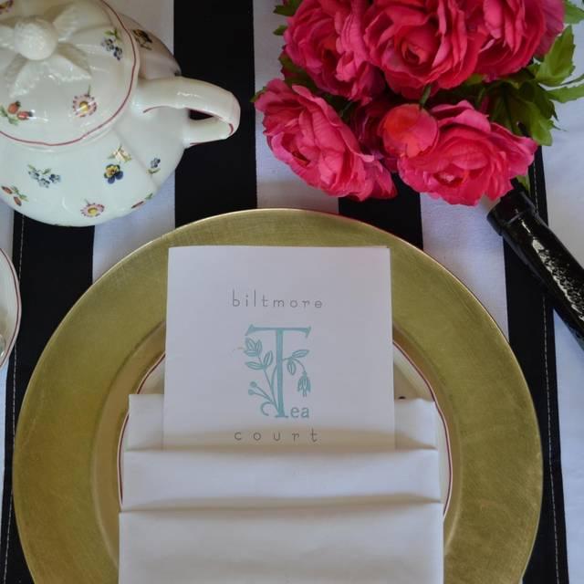 Afternoon Tea at The Arizona Biltmore, Phoenix, AZ