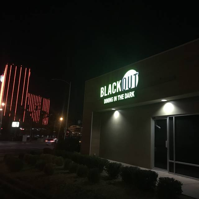 BLACKOUT - Dining in the Dark, Las Vegas, NV