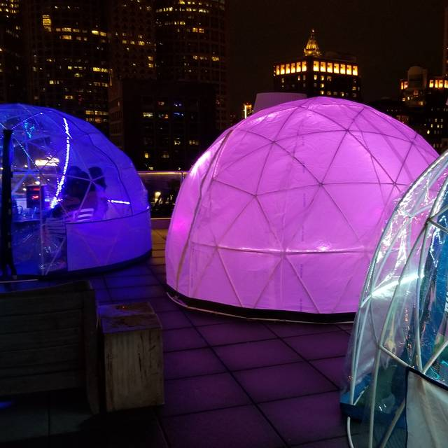 Igloos - Igloos @ Lookout Rooftop Bar, Boston, MA