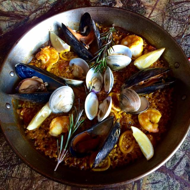 Seafood Paella - Slate Wine Bar, Washington, DC