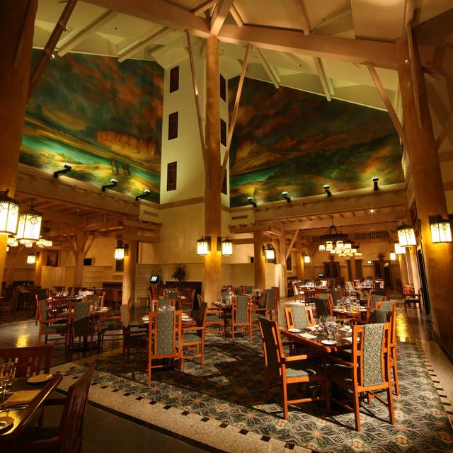 Interior - Artist Point - Disney's Wilderness Lodge, Orlando, FL