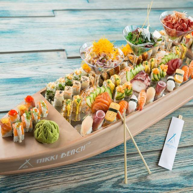 Sushi Boat Nikki Beach Barbados Retreat Saint Peter
