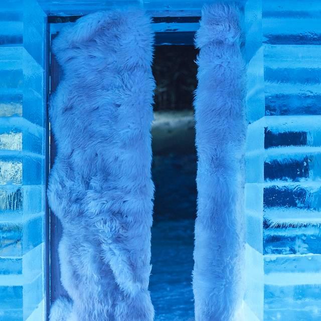 Entrance - アイス ホテル - キロロ - 閉店, 余市郡, 北海道