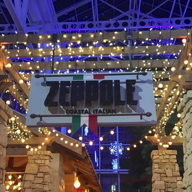Zeppole Coastal Italian at the Gaylord Texan, Grapevine, TX