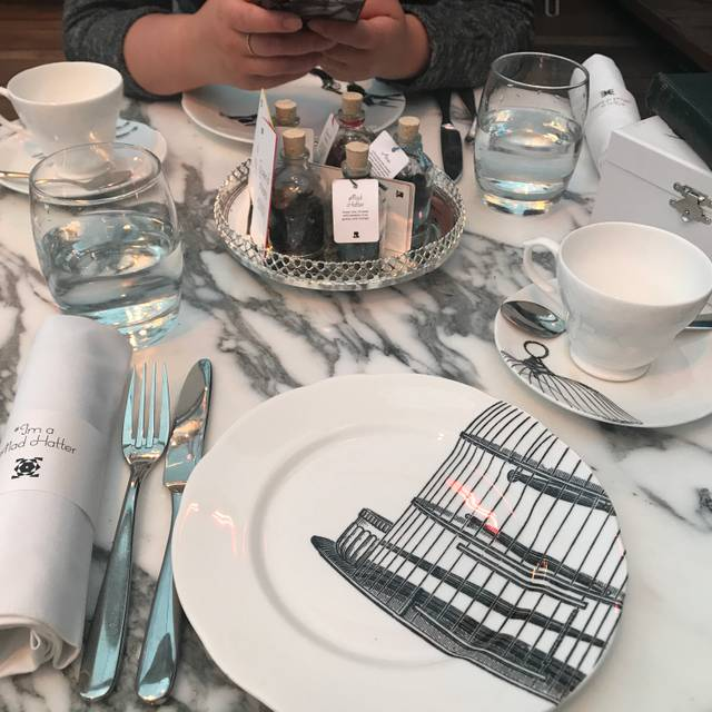 Mad Hatter's Tea at Sanderson, London