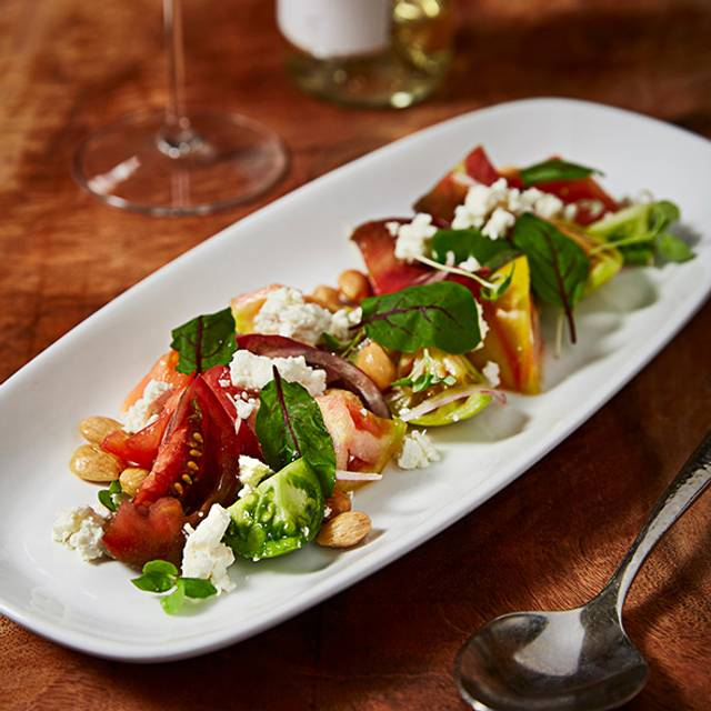 Council Oak Heirloom Tomato Salad - Council Oak Steaks & Seafood – Seminole Hard Rock Hotel & Casino Tampa, Tampa, FL