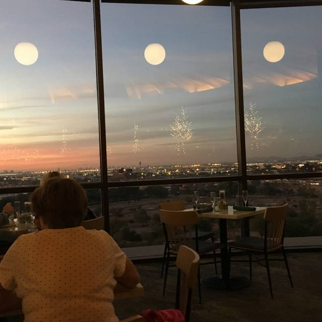 Top Of The Rock Restaurant At The Marriott Buttes Resort Tempe