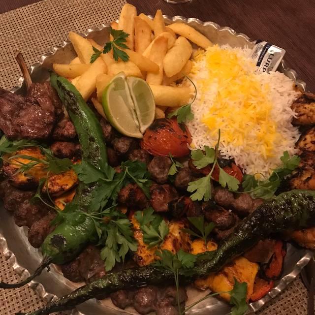 Colbeh Persian Kitchen & Bar, Birmingham, West Midlands