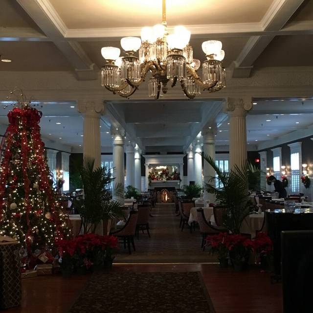 Grand Dining Room at the Jekyll Island Club Hotel, Jekyll Island, GA