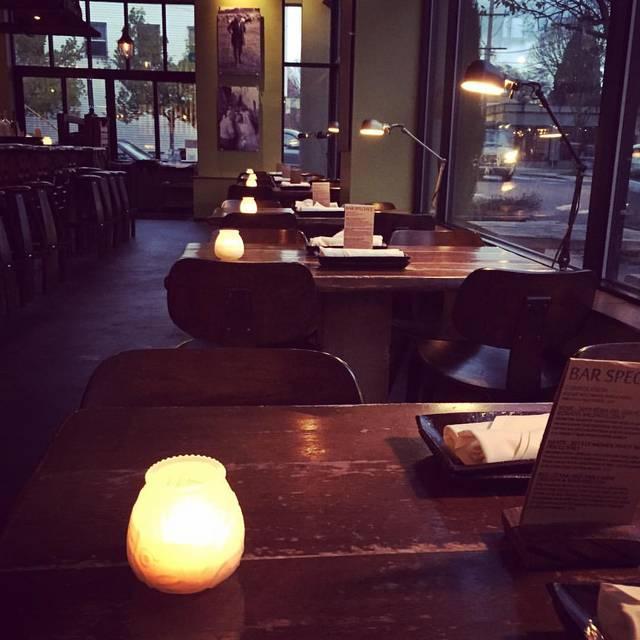 Dining Area - Cibo, Portland, OR