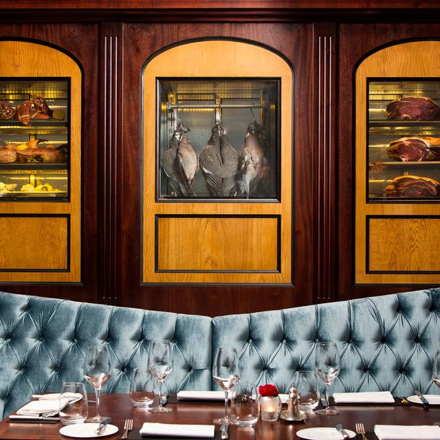 The Game Bird - Display Cabinet - The Game Bird, London