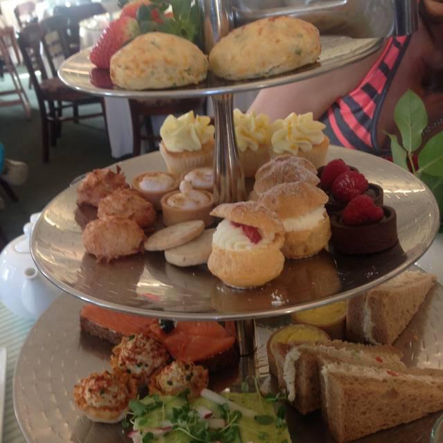 The Huntington S Rose Garden Tea Room Restaurant San