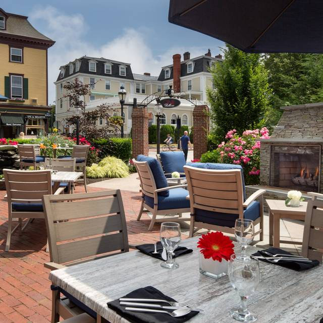 One Bellevue's Patio - One Bellevue, Newport, RI