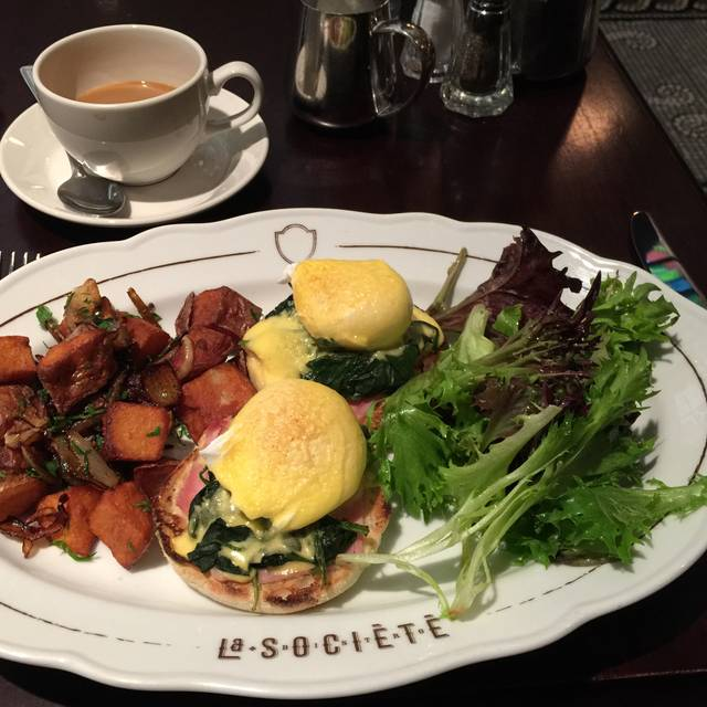 Montreal La Societe Restaurant Breakfasr