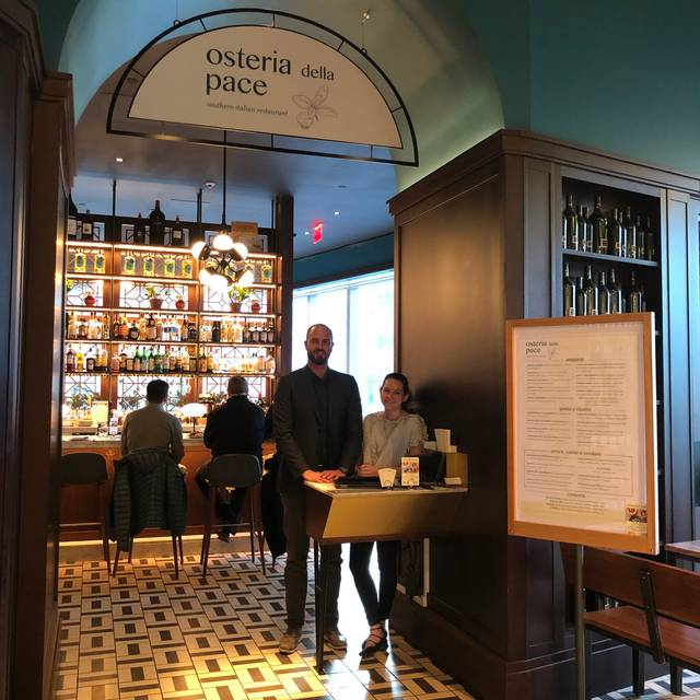 Osteria della Pace - Eataly NYC Downtown, New York, NY