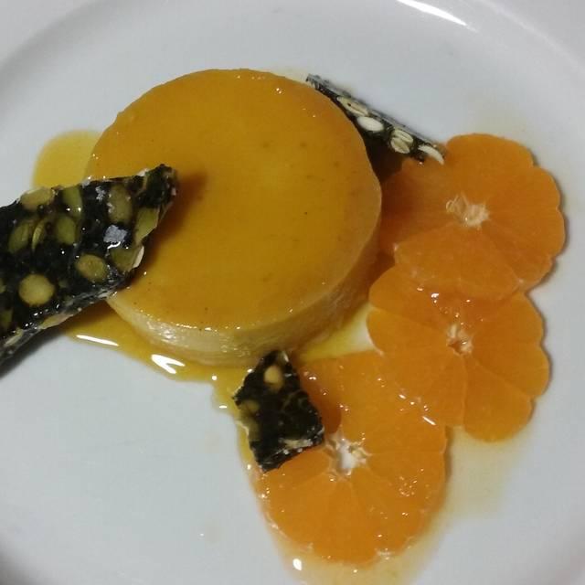 Pumpkin Flan - Olympia Provisions Northwest, Portland, OR