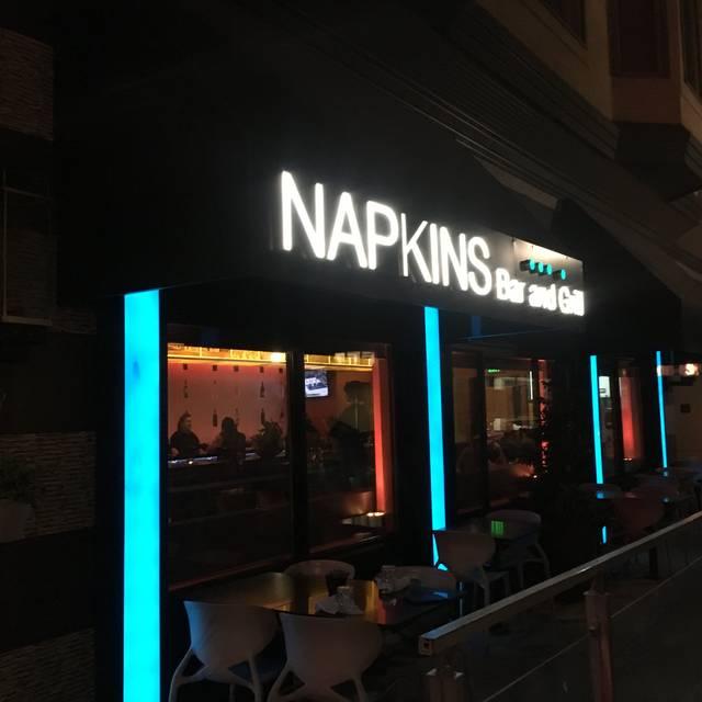 Napkins Bar and Grill, Napa, CA
