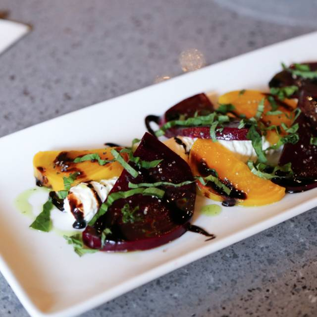 Beet Caprese Salad - Brick Fire Tavern, Honolulu, HI