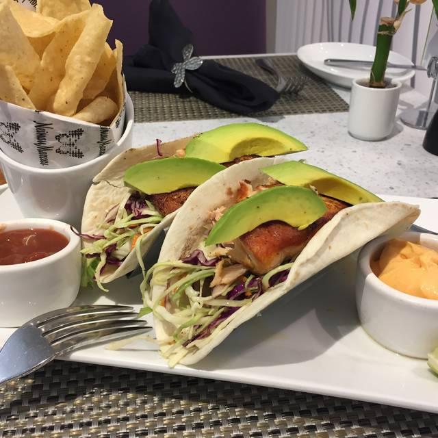 Salmon Tacos - NM Cafe at Natick - Neiman Marcus, Natick, MA