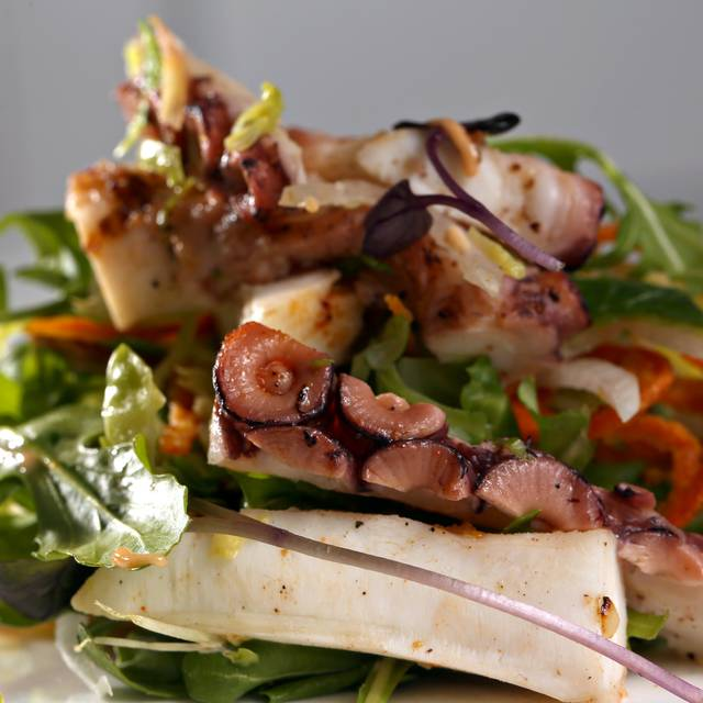 Octopus Salad - Beach House Cafe, Old Greenwich, CT