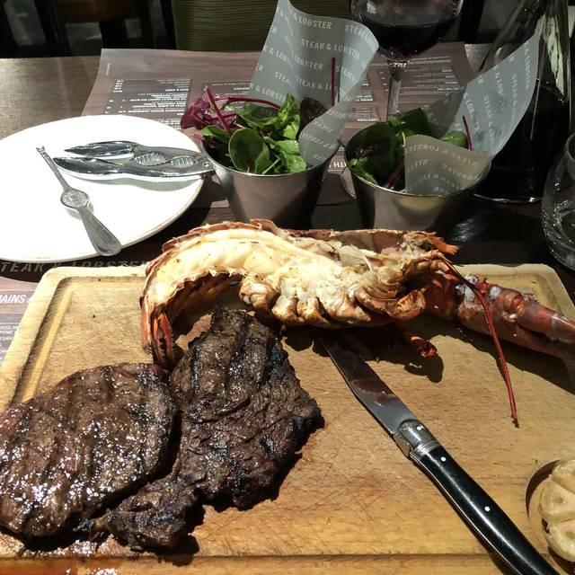 Steak & Lobster Marble Arch, London