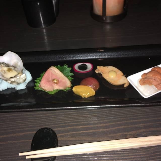 Asuka restaurant los angeles ca opentable for Asuka japanese cuisine menu