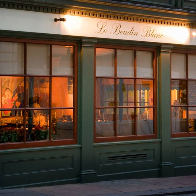 Le Boudin Blanc, London