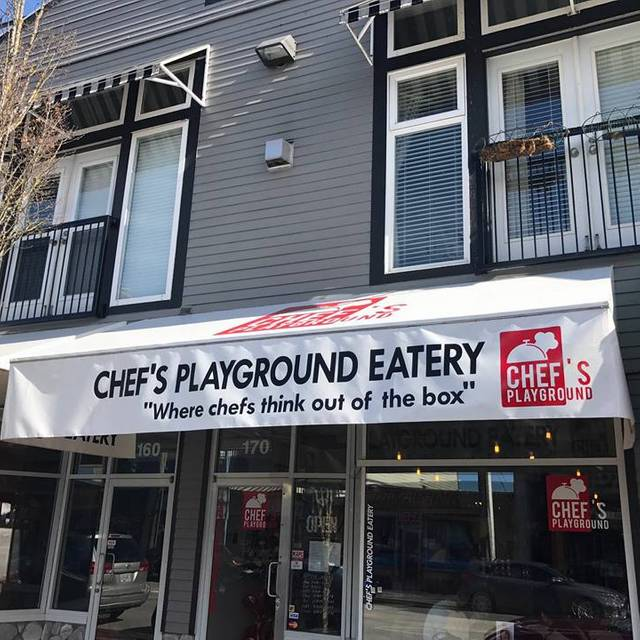 Front Entrance - Chef's Playground Eatery, Richmond, BC