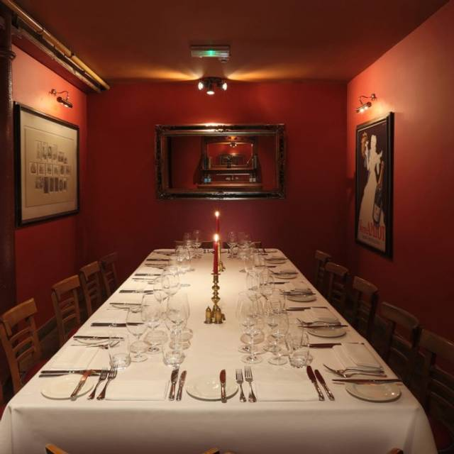 Parlour Room - Bleeding Heart Bistro, London