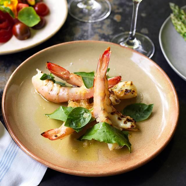 Grilled Prawns, Finger Lime, Sorrel - CHISWICK - Woollahra, Sydney, AU-NSW