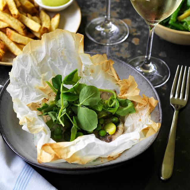 Barra-in-a-bag, Pea, Broad Bean, Lemon V - CHISWICK - Woollahra, Sydney, AU-NSW