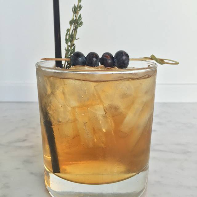 Whiskey Blueberry - Taste on Melrose, West Hollywood, CA