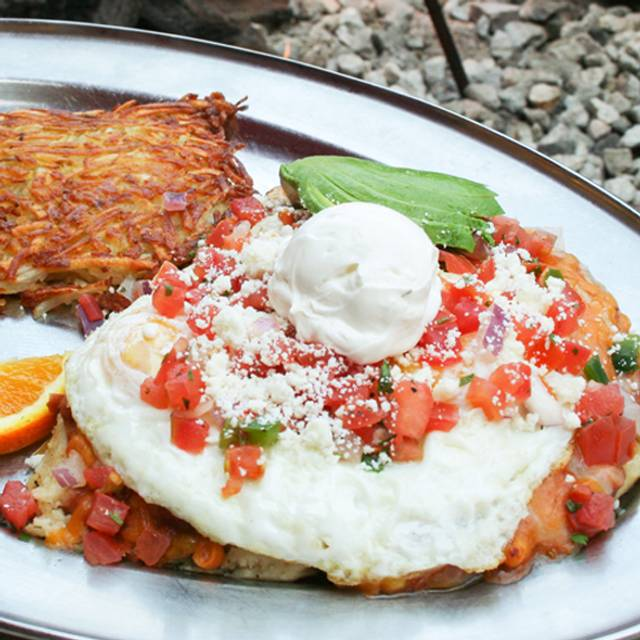 Huevos Rancheros - Saddle Ranch Chop House - Sunset, West Hollywood, CA