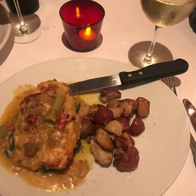 Tony Colombo Restaurant Menu