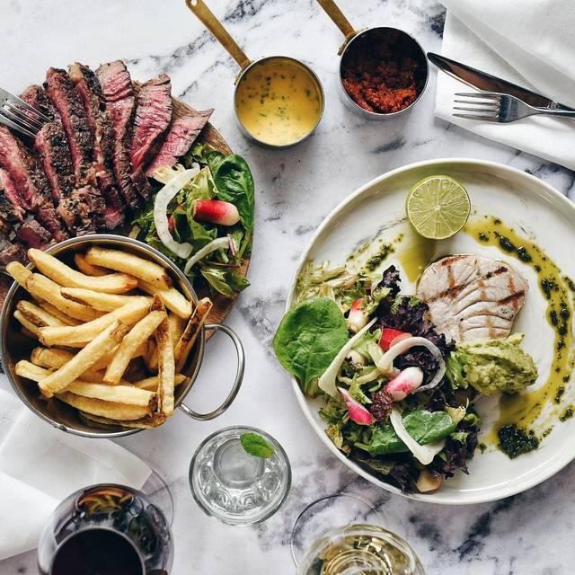 Day Aged Rib Eye + Grilled Tuna Steak - Timmy Green, London
