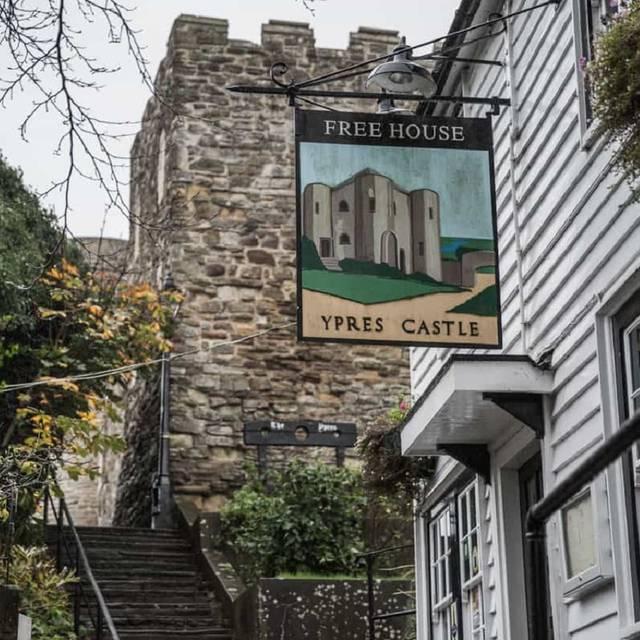 Ypres Inn - Ypres Castle Inn, Rye, East Sussex
