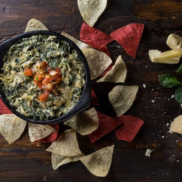 Hot Spinach & Artichoke Dip - Milestones Grill + Bar - Crossroads, Vancouver, BC