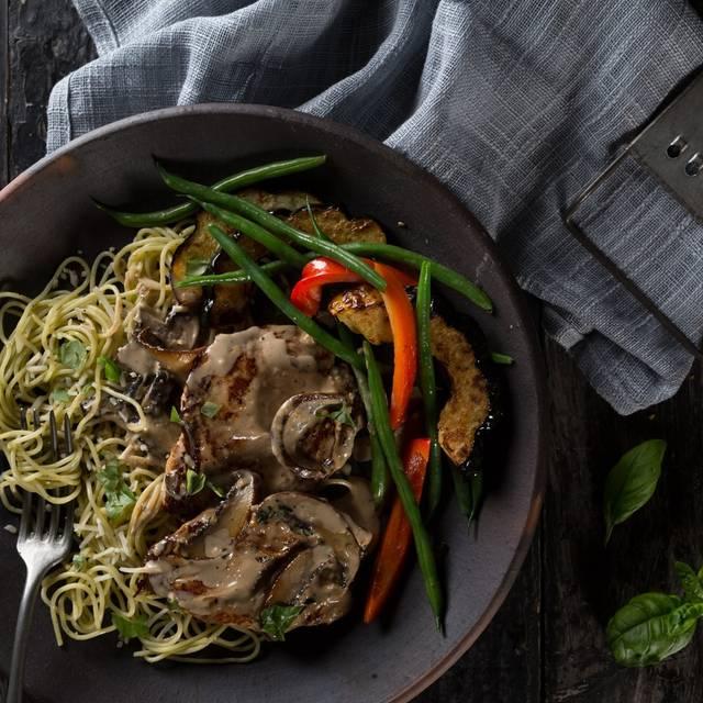 Portobello Mushroom Chicken - Milestones Grill + Bar - Crossroads, Vancouver, BC