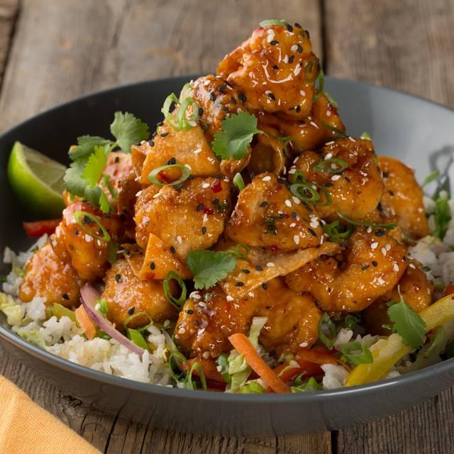 Crispy Chili Chicken Bowl - Milestones Grill + Bar - Dixon, Etobicoke, ON