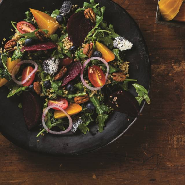 Roasted Beet And Goat Cheese Salad - Milestones Grill + Bar - Kelowna, Kelowna, BC