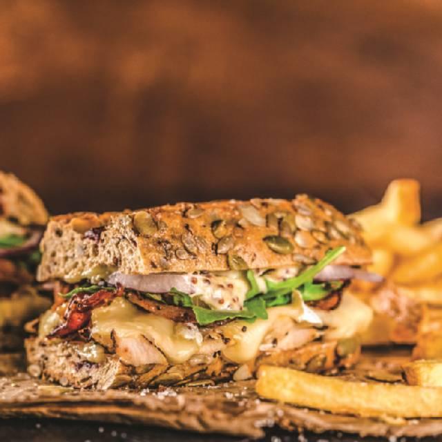 Rustic Chicken Club - Milestones Grill + Bar - Millstream, Victoria, BC