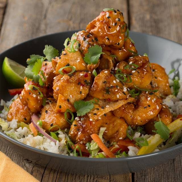 Crispy Chili Chicken Bowl - Milestones Grill + Bar - Ottawa - Sussex, Ottawa, ON