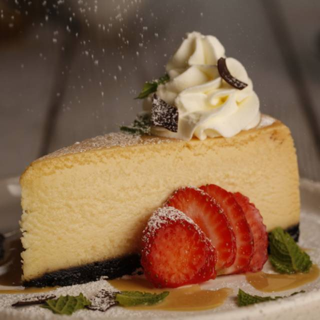 White Chocolate Cheesecake - Milestones Grill + Bar - The Queensway, Etobicoke, ON