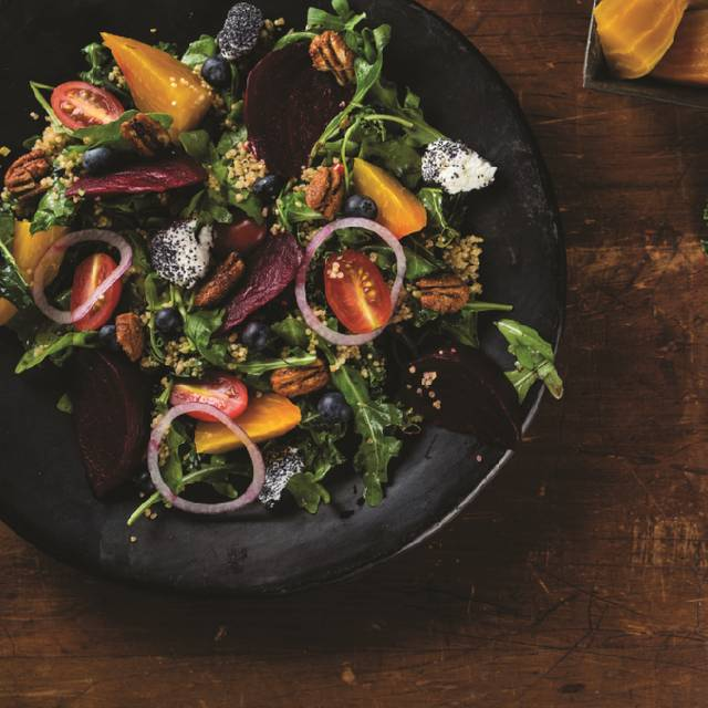 Roasted Beet And Goat Cheese Salad - Milestones Grill + Bar - Toronto - Toronto Life, Toronto, ON