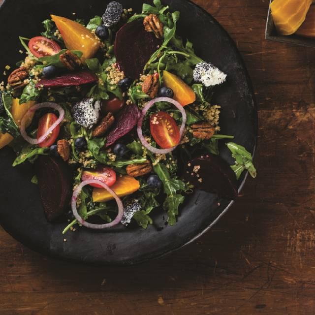 Roasted Beet And Goat Cheese Salad - Milestones Grill + Bar - Waterloo, Waterloo, ON