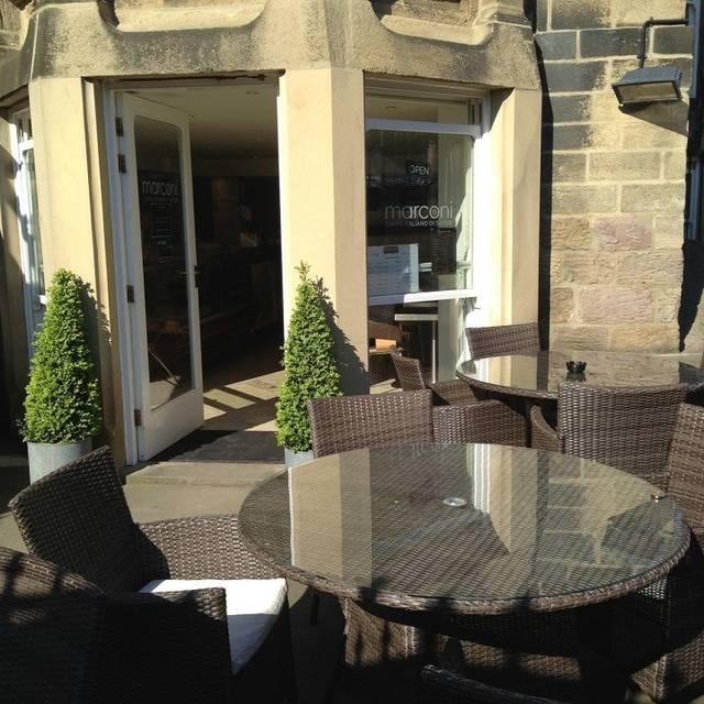 Caffe Marconi, Harrogate, North Yorkshire